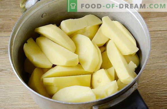 Картофи в пещ в селски стил с пикантни подправки