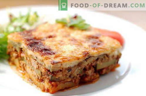 Мусака с патладжан - най-добрите рецепти. Как правилно и вкусно да се готви мусака от патладжан.