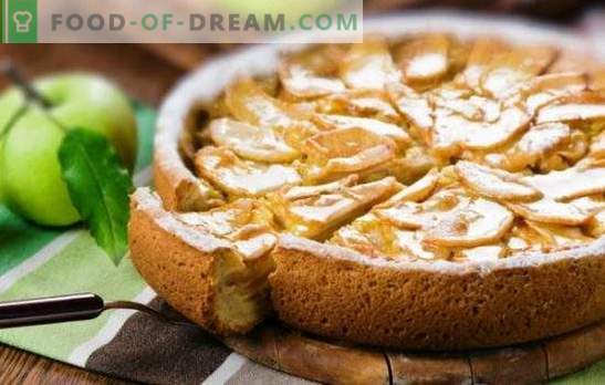 Деликатна шарлота със заквасена сметана и ябълки - деликатес на цялото семейство. Как да си направим шарло с сметана и ябълки от сух хляб