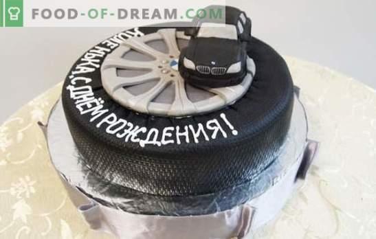 Рожден ден торта за мъж е най-сладкият подарък! Подбор от различни торти за мъже на рождения си ден