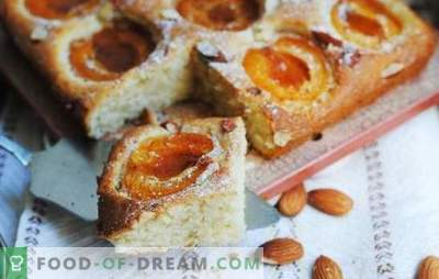 El sol en un platillo - Empanadas de albaricoque de mamá en el horno. Masa dulce, hojaldre y cuajada para tartas con albaricoques en el horno