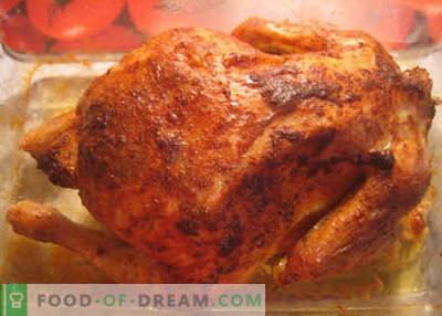 Frango no microondas - as melhores receitas. Como corretamente e cozinhar frango no microondas.