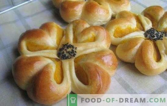 Рецептата за красиви тестени бисквити - правим себе си и у дома! Начини на моделиране и рецепти на красиви кифлички от тесто за дрожди
