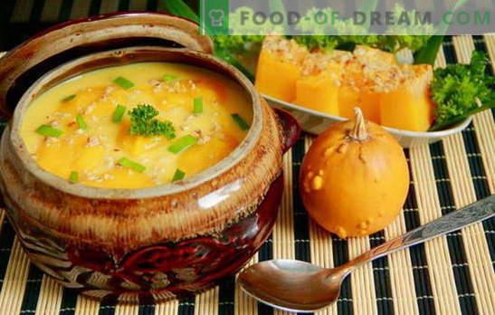 Изненадайте всички с домашна тиква супа: бърза, вкусна! Европейски рецепти за тиквени супи, бързи и вкусни, здравословни и питателни