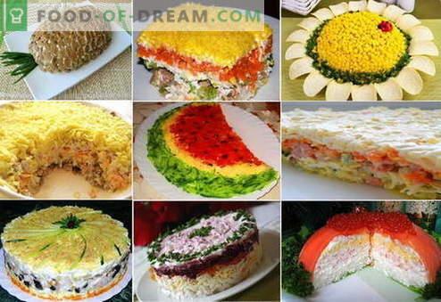 Бутерни салати - най-добрите рецепти. Как да правилно и вкусно готви бутер салати.