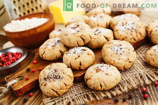 Овесени бисквити с извара - деликатни сладкиши за всеки ден. Обикновени рецепти за овесени бисквити с извара от люспи и брашно