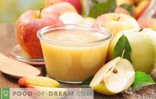 Ябълковото мляко е вкусна и ароматна напитка. Как да приготвите вкусно желе от пресни и сушени ябълки