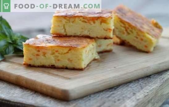 Сирене с морков - полезен и лесен за приготвяне десерт. Най-добрите рецепти на нежна извара и готвене от моркови