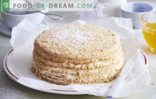 Медена торта: стъпка по стъпка рецепта за любимия ви десерт! Готвене на вкусни медени торти с доказани рецепти стъпка по стъпка