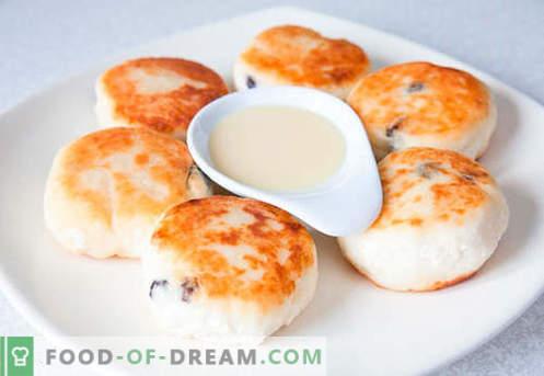 Lush cheesecakes - най-добрите рецепти. Как бързо и вкусно да готвя буйни чийзкейк.