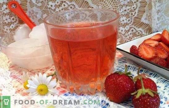 Strawberry compote - рецепти за масата и за зимата. С мента и ванилия, с череша и портокал: най-добрите ягодови компоти