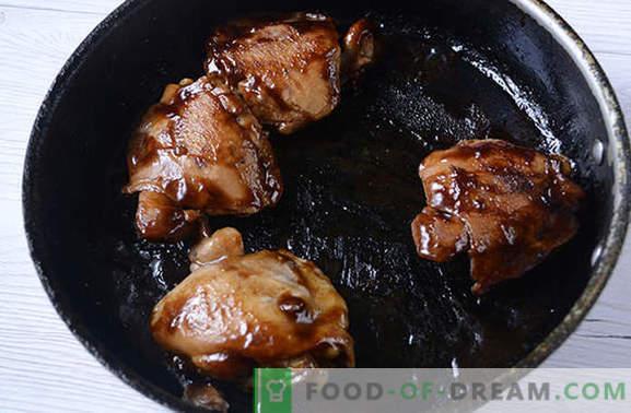 Пържено пиле в соев сос в тенджера - за 20 минути! Стъпка по стъпка авторска рецепта за диетично пържено пиле в соев сос