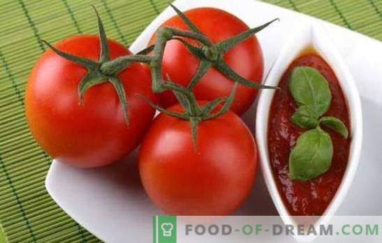 Готвене на топъл сос №1 - лек домат за зимата. Най-известните рецепти за домати за зимата