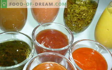 Салата са най-добрите рецепти. Как да правим и да готвя сос за салата.