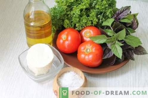 Бързи домати закуски за 15 минути - красотата, вкуса и ползите от летните зеленчуци
