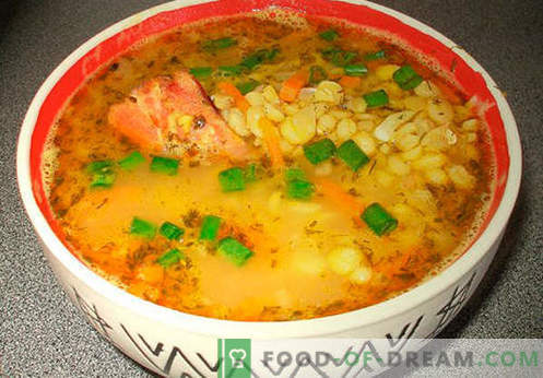 Картофена супа - доказани рецепти. Как да правилно и варени картофена супа.