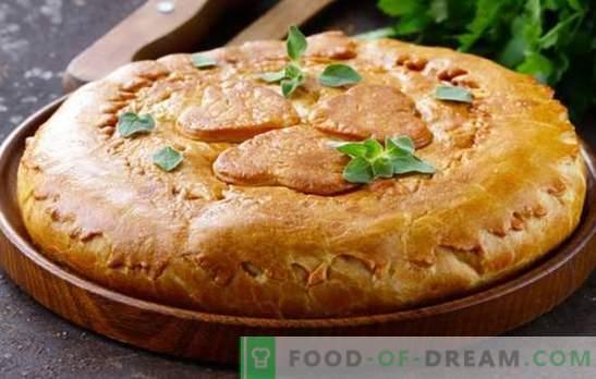 Курник на маргарин - отлични сладкиши с различни пълнежи. Най-добрите рецепти за курник на маргарин