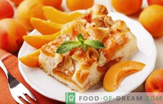 Кайсиевият пай от Юлия Висоцка е шедьовър! Рецепти известни кайсия торта от Vysotsky и неговите модификации