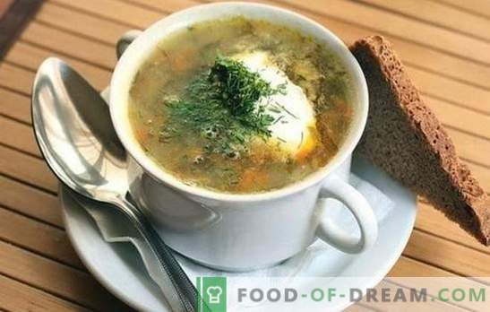 Супа от кисело зеле: 10 от най-добрите доказани рецепти. Триковете за готвене супа от зеле от кисело зеле: с месо и зърнени култури