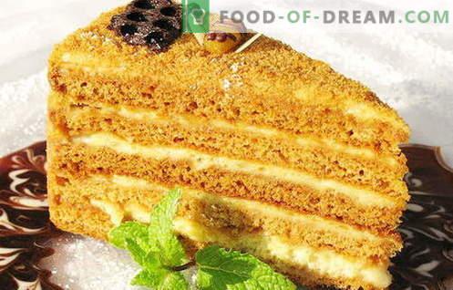 Тортите с кондензирано мляко са най-добрите рецепти. Как правилно и вкусно приготвя торта с кондензирано мляко.