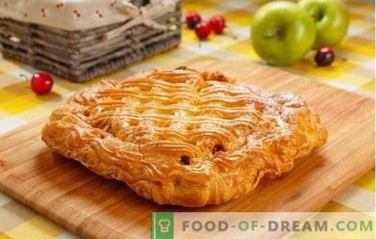 Cherry Yeast Pie - Сладко изкушение! Рецепти на различни вишни пайове: отворени и затворени
