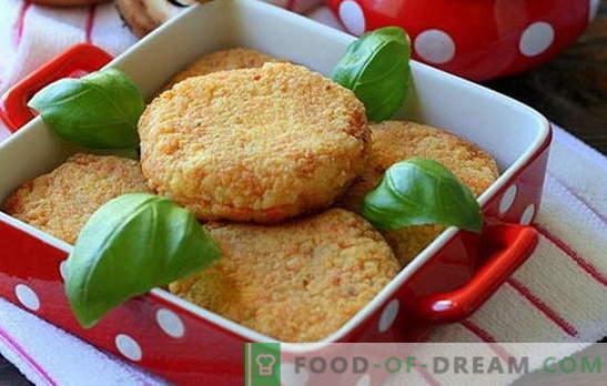 Каракати са изискано ястие за празнична маса и семейна вечеря. Сочни и вкусни котлети от шаран: рецепти, тънкости и тайни на готвене