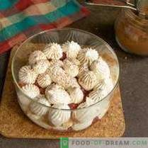 Мелодия с ягоди - лек десерт